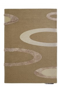 toscana shaggy chenille rug Diag Bronze